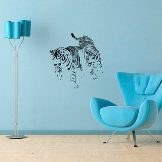 Tigers Vinyl Wall Decal Art
