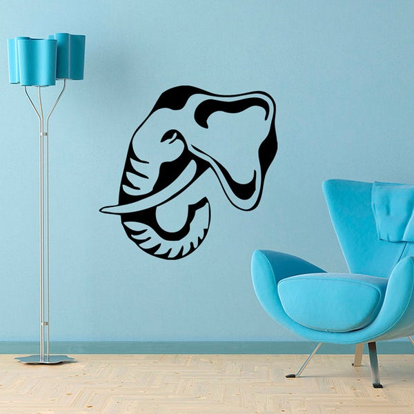 Elephant Tusks Vinyl Wall Decal Art