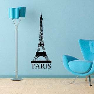 Eiffel Tower Vinyl Wall Decal Art