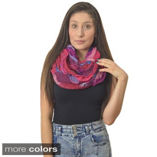 LA77 Multicolored Bubble Scarf