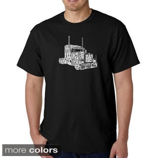 Los Angeles Pop Art Men's 'Keep On Truckin' T-shirt