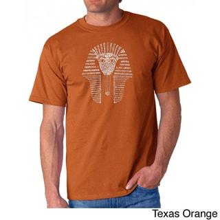 Los Angeles Pop Art Men's 'King Tut' T-shirt