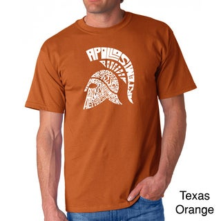 Los Angeles Pop Art Men's 'Spartan' T-shirt