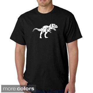 Los Angeles Pop Art Men's 'Tyrannosaurus Rex' T-shirt