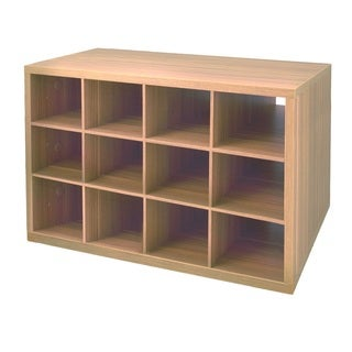 Organized Living freedomRail Cypress Live O-Box Shoe Cubby