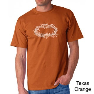 Los Angeles Pop Art Men's 'Jesus Crown of Thorns' T-shirt