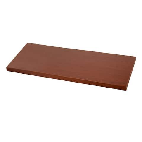 Organized Living freedomRail 48x21-inch Modern Cherry Desk Top