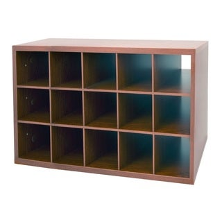 Organized Living freedomRail Modern Cherry Big O-Box Shoe Cubby