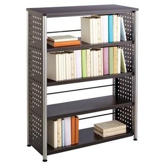 Safco Scoot Black 4-shelf Bookcase