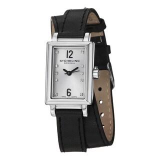 Stuhrling Original Women's Paris Swiss Quartz Double Wrap Leather Strap Watch Set|https://ak1.ostkcdn.com/images/products/8786621/Stuhrling-Original-Womens-Paris-Interchangeable-Strap-Watch-P16024963.jpg?_ostk_perf_=percv&impolicy=medium