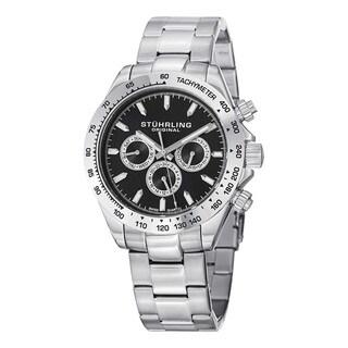 Stuhrling Original Men's Raceway Swiss Quartz Bracelet Watch