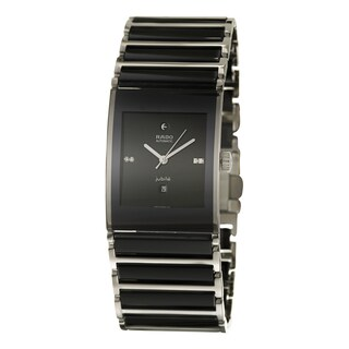 Rado Men's 'Integral Automatic Jubile' Stainless Steel Swiss Mechanical Automatic Watch