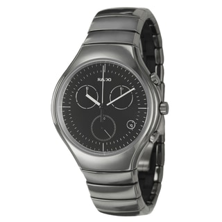 Rado Men's 'Rado True' Ceramic Chronograph Watch