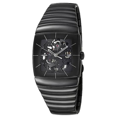 Rado Men's 'Sintra Automatic' Ceramic Chronometer Skeleton Watch