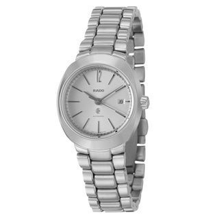 Rado Women's 'D Star' Stainless Steel Swiss Mechanical Automatic Watch