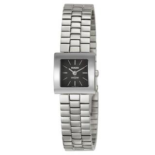 Rado Women's 'Diastar' Stainless Steel Swiss Quartz Watch
