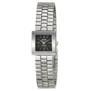 Rado Women's 'Diastar' Stainless Steel Swiss Quartz Watch