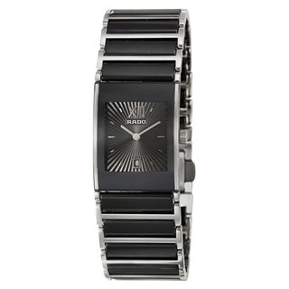 Rado Women's 'Integral' Stainless Steel Swiss Quartz Watch