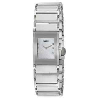 Rado Women's 'Integral Jubile' Stainless Steel Swiss Quartz Watch