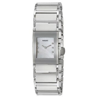 Rado Women's 'Integral Jubile' Stainless Steel Swiss Quartz Watch - Silver