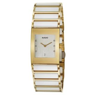 Rado Women's 'Integral Jubile' Yellow Gold PVD-coated Stainless Steel Swiss Quartz Watch