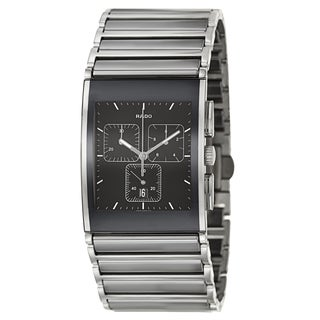 Rado Men's 'Integral Chronograph' Stainless Steel Chronograph Watch