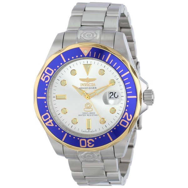 fea57a3c6 Shop Invicta Men's 13788 'Pro Diver' Automatic Stainless Steel Watch ...