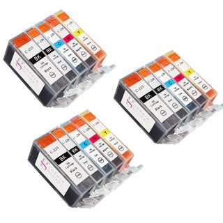 Sophia Global Compatible Ink Cartridge Replacement for Canon PGI-225 CLI-22 (Remanufactured) (Pack of 15)