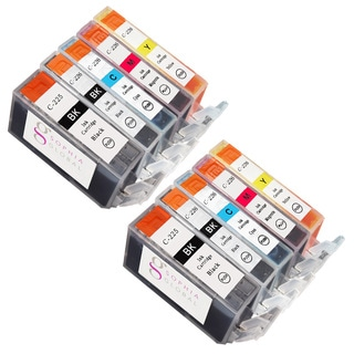 Sophia Global Compatible Ink Cartridge Replacement for Canon PGI-225 CLI-226 (Remanufactured) (Pack of 10)