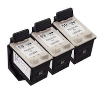 Sophia Global Ink Cartridge Replacement for HP 59 (Remanufactured) (Pack of 3)