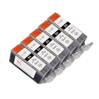 Sophia Global Compatible Ink Cartridge Replacement for Can PGI 225 (Remanufactured) (Pack of 5)