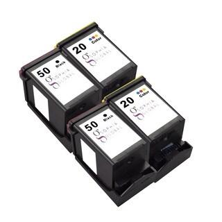 Sophia Global Ink Cartridge for Lexmark 70/20 (Remanufactured) (Pack of 4)