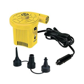 Sevylor 12-volt Yellow/ Black Air Pump