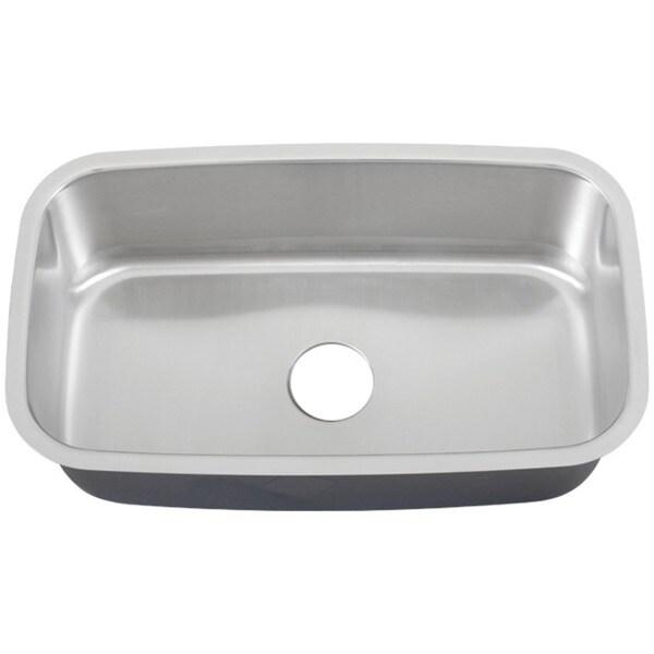 Ticor 32-inch 16-gauge Stainless Steel Undermount Kitchen Sink