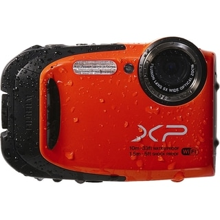 Fujifilm FinePix XP70 16.4 Megapixel Compact Camera - Orange