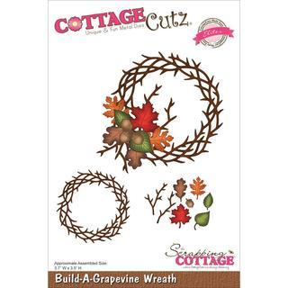 CottageCutz Elites Die 3.7 X3.5 - Build-A-Grapevine Wreath