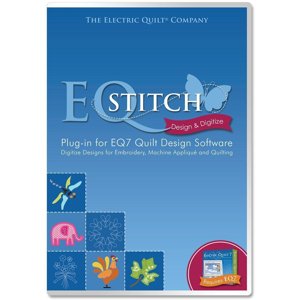 Electric EQStitch Embroidery Software -Plug-In For EQ7 -