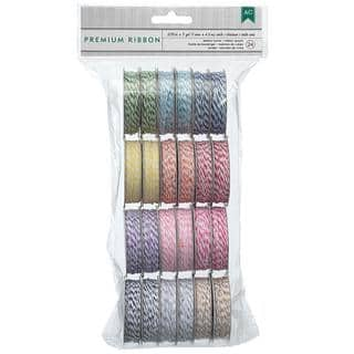 Value Pack Baker's Twine 5 Yards/Spool 24/Pkg - 12 Bright Colors/2 Each|https://ak1.ostkcdn.com/images/products/8788055/P16026167.jpg?impolicy=medium