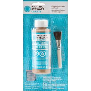 Martha Stewart Glass Etching Cream - 5.96oz