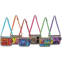 Crossbody Bags Zipper Top Assortment 11-3/4 X2 X8-1/2  - Whiskered Cats