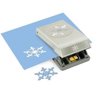 Large Punch - Vintage Snowflake, 2.5