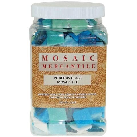 Vitreous Glass Mosaic Tile 2.5lb - Horizon Mix