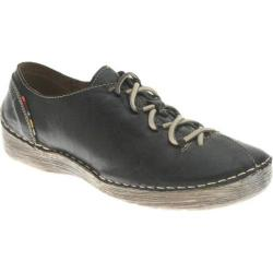 Women's Spring Step Carhop Black Leather
