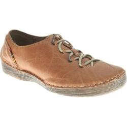 Women's Spring Step Carhop Brown Leather