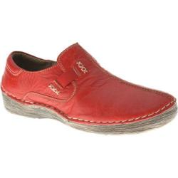 Women's Spring Step Coed Red Leather