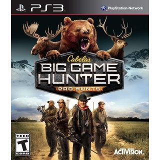 PS3 - Cabelas: Big Game Hunter Pro Hunts