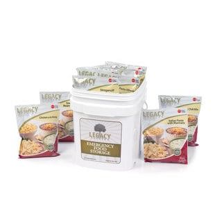 Legacy Premium Food Storage Entree Bucket (60 Servings)