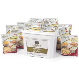 Legacy Food Storage Freeze-dried Emergency Meals (60 Servings)