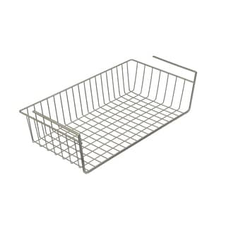 Organized Living Large Nickel Under-cabinet Basket