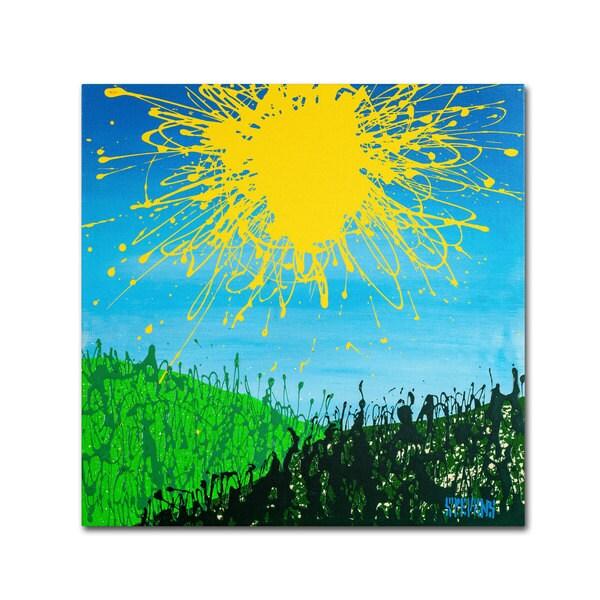 Roderick Stevens 'Sun Valley' Canvas Art